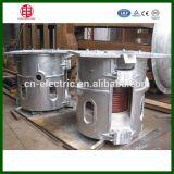 Fornalha de derretimento de inclinação mecânica da indução para o cobre e o alumínio