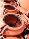 Bride H200, couplage de réparation de pipe, bride de réparation de pipe de pipe de réparation pour la pipe de fer de moulage et la pipe malléable de fer. Réparation rapide disjointe de pipe