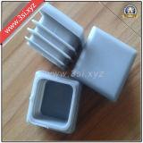플라스틱 까만 장방형 엔드 캡 (YZF-C93)
