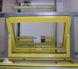 장식적인 플라스틱 PVC는 선회축 Windows를 센터 걸었다