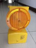 Солнечная/питание от батареи светодиод мигает сигнальная лампа заграждение