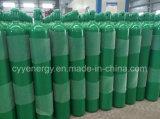 Cilindro de gás compósito de argônio de nitrogênio oxigênio de dióxido de carbono de 40L de alta pressão