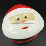 Impression colorée en métal Candy Christmas Tin Box Candy (T001-V20)