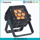 Alta potencia de 7X10W RGBW China llevó las luces de DJ en el estadio