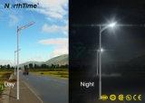 Luz de rua solar completa de controle remoto esperta com painel de Solarworld