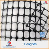Samengesteld Geotextile Strenth Polypropyleen met grote trekspanning pp Geogrid