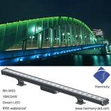 Rondelle de longue vie intelligente de mur de la haute énergie RVB IP65 DEL de conception