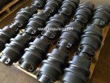Peças da estrutura da escavadora da máquina escavadora da maquinaria de construção do rolo da parte inferior de Daewoo/de rolo trilha de Doosan Dh370