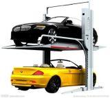 Электрическая разблокировка 2 2 слой гидравлический подъемник для автомобилей Ce