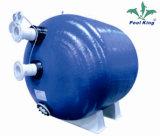 Filtro comercial horizontal para piscina de bobinas