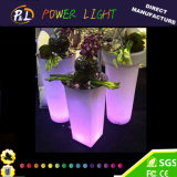 De Kleur die van het Meubilair van de tuin de Waterdichte RGB LEIDENE Verlichtende Pot van de Installatie veranderen
