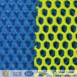 A1678 액티브한 스포츠 단화를 위한 100%년 폴리에스테 날실에 의하여 뜨개질을 하는 공기 메시 직물