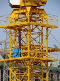 Grue à la tour 10t de Qtz 80-6010 de première grue à tour de nécessaire