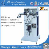 Spc-300m Pneumatic Cylindrical / Flat Screen Printer