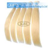 Blondes Brasilianer-Menschenhaar der Farben-613#