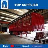 Het Voertuig van de titaan - de Semi Aanhangwagen van de Zijgevel van de Bevloering van de Aanhangwagen van het Vee