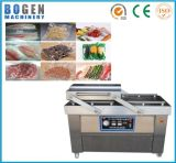 Máquina de embalagem do vácuo da carne de peixes das sementes das frutas