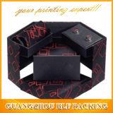Krawatten-verpackenkasten-farbenreiches Drucken