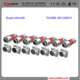 9 collegare Auto Male e Female Aviation Plug Connector