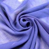 tela 100%Polyester para la falda de la bufanda de la alineada