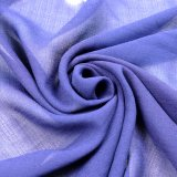 tela 100%Polyester para a saia do lenço do vestido