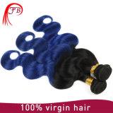 Tessitura brasiliana all'ingrosso dei capelli dell'onda del corpo dei capelli umani di Omber