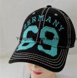 昇進のパッチが付いている方法スポーツの野球によって洗浄される帽子