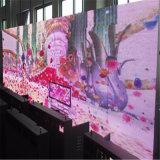 Schermo di visualizzazione esterno del LED di colore completo della stazione impermeabile P6