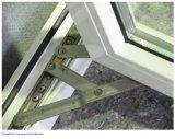 Серое большое поверхностное двойное стеклянное алюминиевое стеклянное Windows