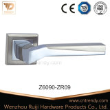 Прямая линия ручка рукоятки двери сплава цинка на квадратном Rose (Z6092-ZR09)