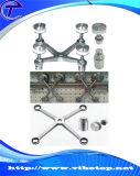Hardware moderno europeo del portello dell'acquazzone di vetro di scivolamento del hardware del portello di granaio