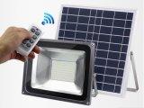 Polvere da albeggiare indicatore luminoso del punto con l'indicatore luminoso di inondazione solare esterno solare del sensore di movimento della pila 10W 50W 150W PIR LED