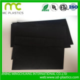 Forro preto ou cinzento do HDPE com as matérias- 100% primas do Virgin usadas para a operação de descarga/canaleta e a represa