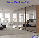 3mm 4mm 5mm 6mm Double Coated Silver Mirror