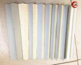 Pano de alumínio plana de alta temperatura ou Circular abaixo as tampas de protecção