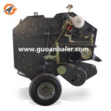 Machine ronde agricole de presse de foin de matériel de bonne qualité d'exportation mini