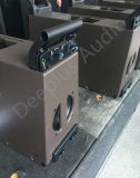 Диктора венчания Inddor 8 дюймов линия звуковой ящик напольного малая блока