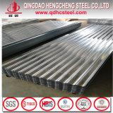 La norme ASTM A653M d'acier galvanisé Hdgi toiture tuile ondulé en métal