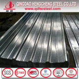 Strato ondulato del tetto del metallo dell'acciaio rivestito dello zinco