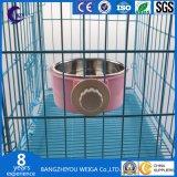 Taça de cão travando Taça Gaiola Pet