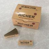 24bookltes het rijkere Bruine Ongeraffineerde Rolling Document van de Sigaret met Filters
