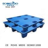 1100X1100 soprando palete de plástico, paletes de plástico do molde de sopro, Injeção de sopro de paletes de plástico