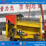 Purificador de lavagem do Trommel do ouro da planta de mineração do ouro da grande capacidade