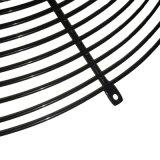 Часть круглый стол сеткой ограждения вентилятора с черным