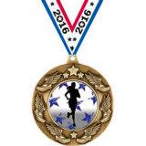 Vliegtuig van de Medaille van de Ster van de Politie van de Speld van het Volleyball van het Messing van de douane 3D Antieke