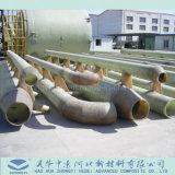 폐수 화학제품에 의하여 사용되는 섬유유리에 의하여 강화되는 플라스틱 박격포 FRP GRP 관