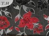 Tissu de sofa et de meubles de Chenille de série de jacquard beau dans le chaud