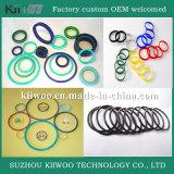 Boa selagem de anéis flexíveis de borrachas macias de silicone e silicone