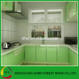 現代デザイン簡単な様式PVC真空の食器棚