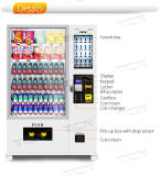 Boisson froide vending machine pour la vente de l'écran tactile vending machine machine distributrice automatique